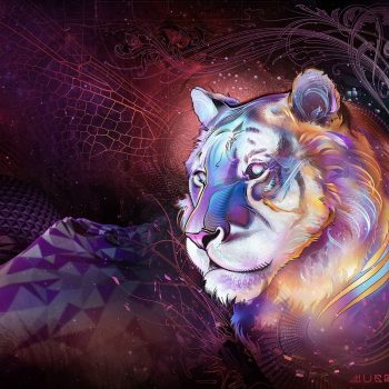 Astral Tiger | Mugwort Designs