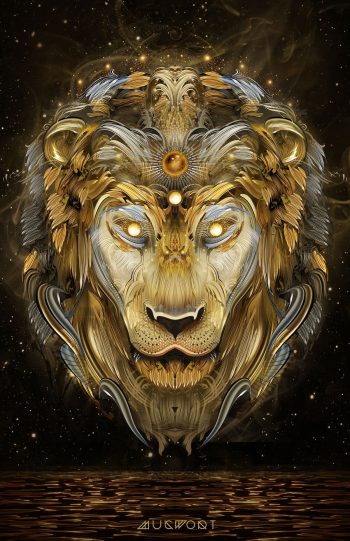 Brass Lion | Mugwort Designs