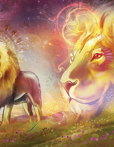 Lions of The Dreamtime